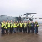 ADS NI Council welcomes A400 visit