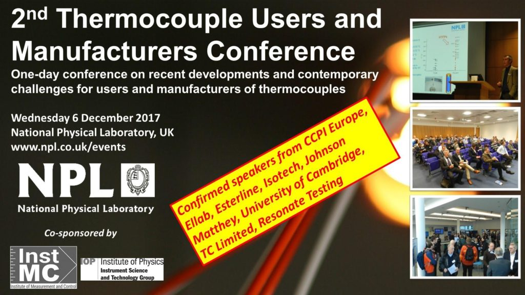 Resonate present at Annual Thermocouple Conference – Resonate Testing